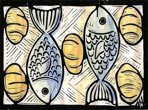 loaves and fishes artwork